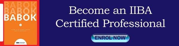 Become IIBA Certified