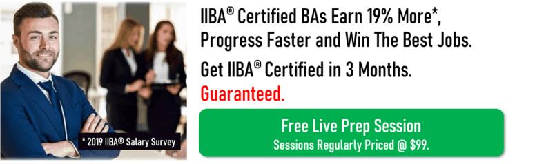 Be a certified BA