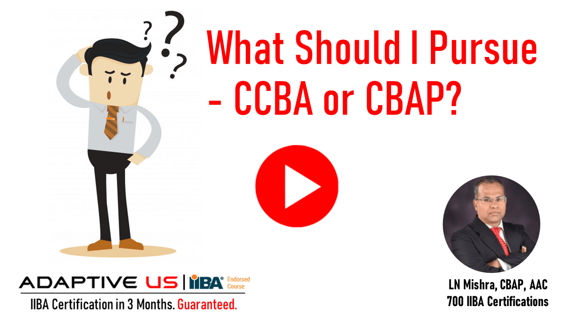 CCBA or CBAP