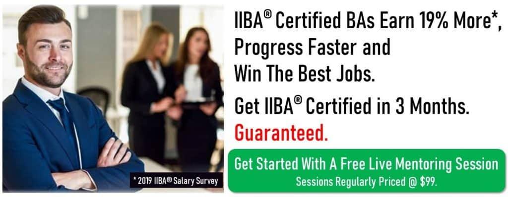 IIBA Prep Webinar Image