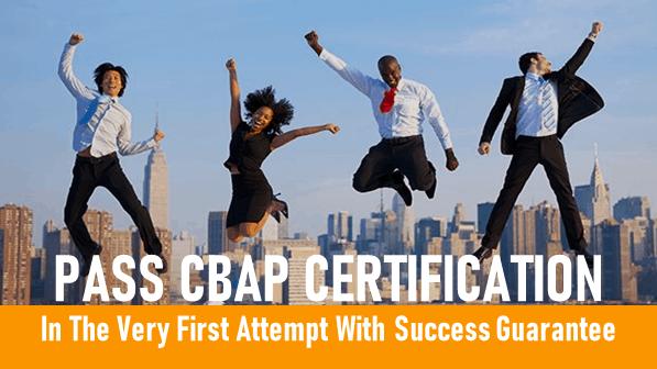 Pass CBAP Exam