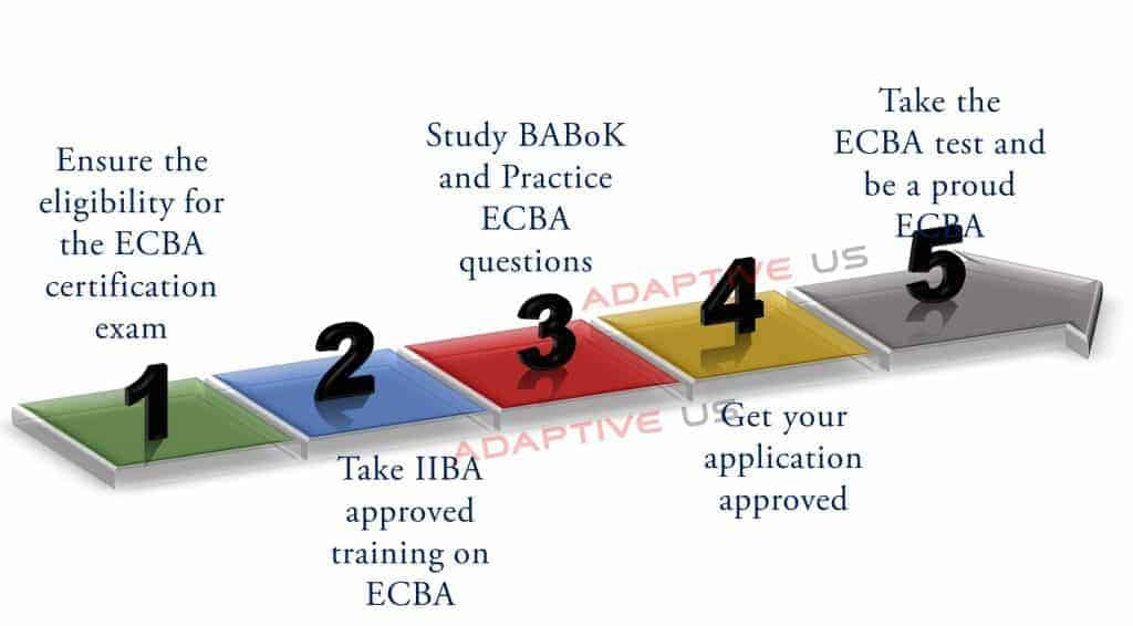 Steps to become a successful ECBA