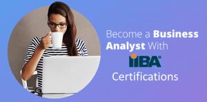 With IIBA Certifications