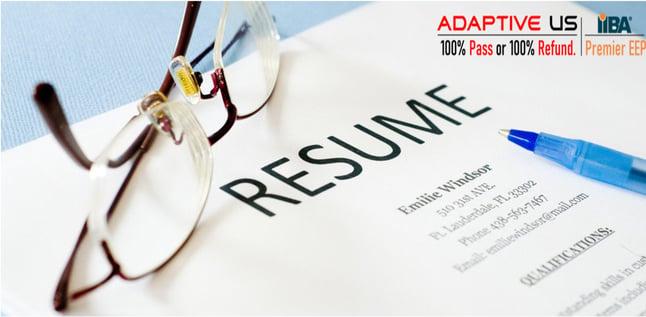 Resume prep