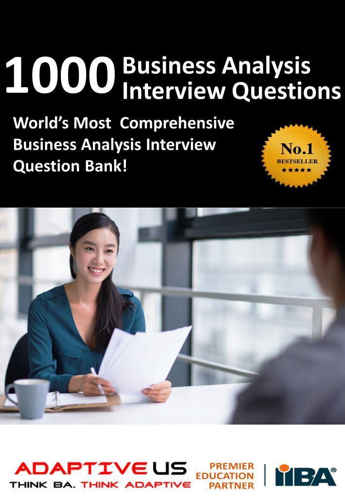 1000 BA interview question bank - A4