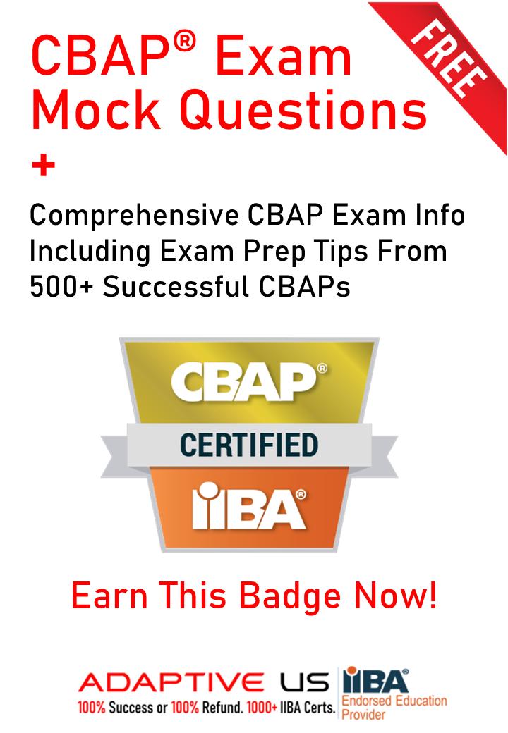 CBAP Mock Questions Image-1